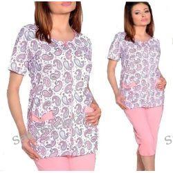 363 TARO piżama damska WERA 908 rozpinana L Szlafroki