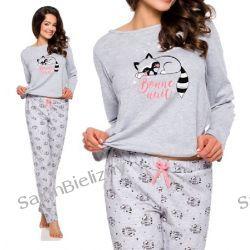 TARO piżama damska 2226 Maja długa szara L Piżamy