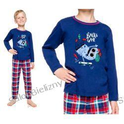 TARO piżama dziecięca 2343 długa LEO 134 cm Dla Dzieci