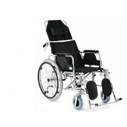 Wózek inwalidzki aluminiowy stabilizujący plecy