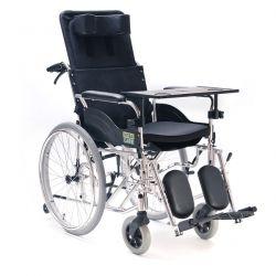 Wózek inwalidzki specjalny stabilizujący plecy