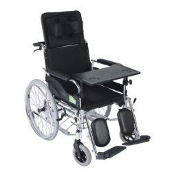 Wózek inwalidzki specjalny stabilizujący z toaletą