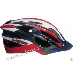 Kask mtb LAZER REVOLUTION red white blue