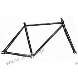 RAMA FIX BIKE CR-MO CZARNA + WIDELEC Piasty