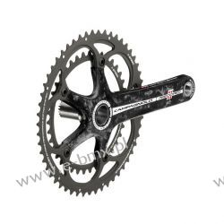 MECHANIZM KORBOWY CAMPAGNOLO RECORD ULTRA-TORQUE CARBON 2x11 Piasty