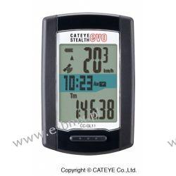 LICZNIK Z GPS CATEYE STEALTH EVO CC-GL11