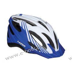 KASK MTB LAZER VANDAL white blue 54-61 cm Piasty