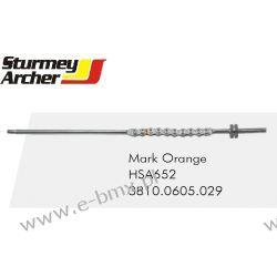 ŁAŃCUSZEK PIASTY STURMEY ARCHER HSA652 ORANGE Tarczowe