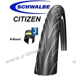 OPONA SCHWALBE CITIZEN 26x1,75 REFLEX K-GUARD