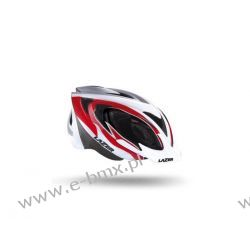 KASK MTB LAZER 2X3M TRI BAND, RED WHITE BLACK Koła
