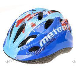 KASK ROWEROWY METEOR, MAP BLUE, HB6-5