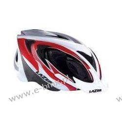 KASK MTB LAZER 2X3M RED WHITE BLACK  Sport i Turystyka