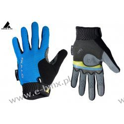 Rękawiczki BULLS CZARNO / NIEBIESKIE Sztywne