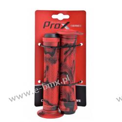 CHWYTY KIEROWNICY BMX PROX GP-75H CZERWONE Sport i Turystyka