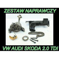 VW BMP BLB BRE BKP  BPW 2.0 TDI POMPA OLEJU WAŁKI
