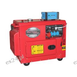 Agregat prądotwórczy Diesel KWD6500ES KD121 Grzejniki