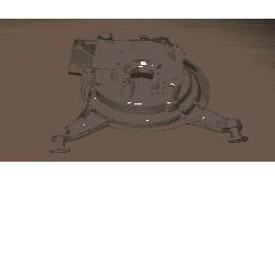obudowa przednia prądnicy agregat KD102 [Kraft&dele]