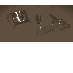 tłok,korbowód,sworzeń agregatu KD110 [Kraft&dele] Pompy i hydrofory