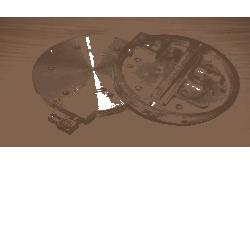 tylna pokrywa pompy nagrzewnicy KD710
