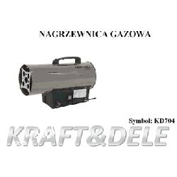 NAGRZEWNICA GAZOWA 30kW KD704 Farelka Ogrzewacz [Kraft&dele] Pozostałe