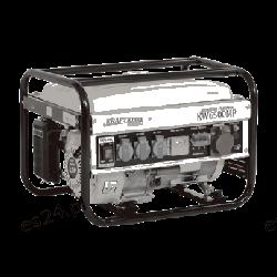 Agregat prądotwórczy trójfazowy KW6500MP KD105 [Kraft&dele]