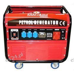 Agregat Prądotwórczy benzynowy KW6555 KD107 [Kraft&dele] Pompy i hydrofory