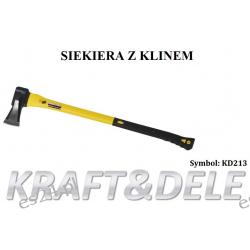 SIEKIERA DO ŁUPANIA RĄCZKA FIBERGLASS 2000g KD213 [Kraft&dele] Części