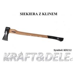 SIEKIERA DO ŁUPANIA 3000G KD212 [Kraft&dele] Nożyce i sekatory