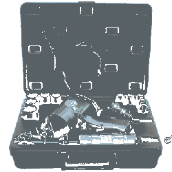Klucz udarowy pneumatyczny zestaw z grzechotką KD1422 LX-005 [Kraft&dele]