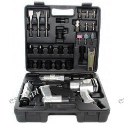 Zestaw narzędzi pneumatycznych 34EL. KD1421 LX-008 [Kraft&dele] Agregaty prądotwórcze