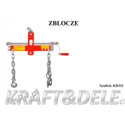 Zblocze Model KD321 [Kraft&dele] Klucze