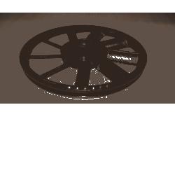 koło pasowe kompresora KD403-408 [Kraft&dele] Sprężarki
