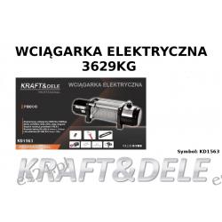 wyciągarka samochodowa elektryczna 3629KG Motoryzacja
