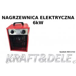 Nagrzewnica elektryczna 6KW 380V KD11722 Wkrętarki