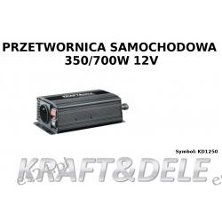 przetwornica samochodowa 350/700W 12 V KD1250 Wyposażenie elektryczne