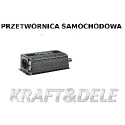 przetwornica samochodowa 500/1000W 12 V KD1252 Pozostałe
