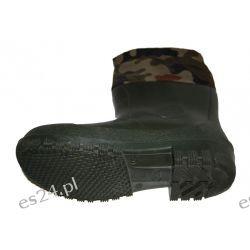 Kalosze moro ciepłochronne gumowce myśliwskie 100% guma Części