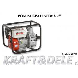 """Pompa Spalinowa 2 """" KD770 Piły"""