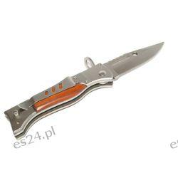 NÓŻ BAGNET AK-47 DUŻY 27cm TAKTYCZNY SPRĘŻYNOWY [Inny] Tarcze