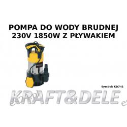 pompa wody brudnej KD741 1850W