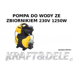 pompa do wody ze zbiornikiem KD743