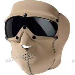Maska neoprenowa z goglami, Coyote [Mil-Tec] Sporty zimowe