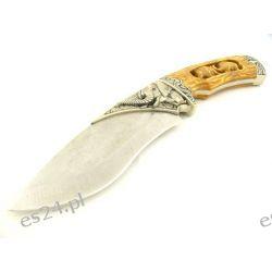 Nóż myśliwski na prezent, z grawerem na ostrzu JKR 260 [Fox Knife]