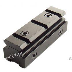 Metalowa szyna - adapter - przejście z 11 mm na 20 mm [Inny] Pozostałe