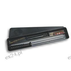 Wycior do wiatrówki 5,5mm - komplet szczotek + pudełko [Megaline] Części