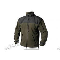 × Bluza CLASSIC ARMY - Fleece - Olive Green/Czarny Odzież, Obuwie, Dodatki