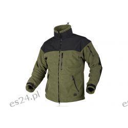 Bluza CLASSIC ARMY - Fleece Windblocker - Olive Green/Czarna Odzież, Obuwie, Dodatki