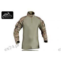 Bluza combat shirt z nałokietnikami camogrom r.XL Odzież, Obuwie, Dodatki