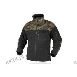 Bluza INFANTRY - Fleece - Czarna/PL Woodland Odzież i bielizna męska
