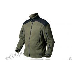 × Bluza LIBERTY - Double Fleece - Olive Green/Czarny Odzież, Obuwie, Dodatki